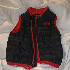 North Face baby vest